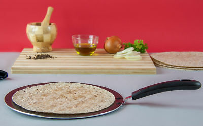 Non-stick Tawa (Non Stick Asian Heavy Duty Tawa Tava Pan Naan Roti Chapati Pancake Bread 30cm)