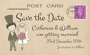 wedding save the date cards ebay