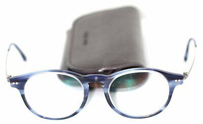 GIORGIO ARMANI Frames of Life AR7010 5024 Titanium Brille Blau/Silber glasses