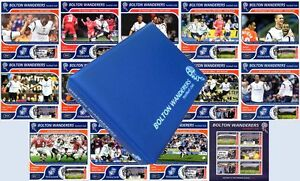 2001-02-BOLTON-WANDERERS-Football-Club-Stamp-Album-Victory-Card-Maxi-Covers