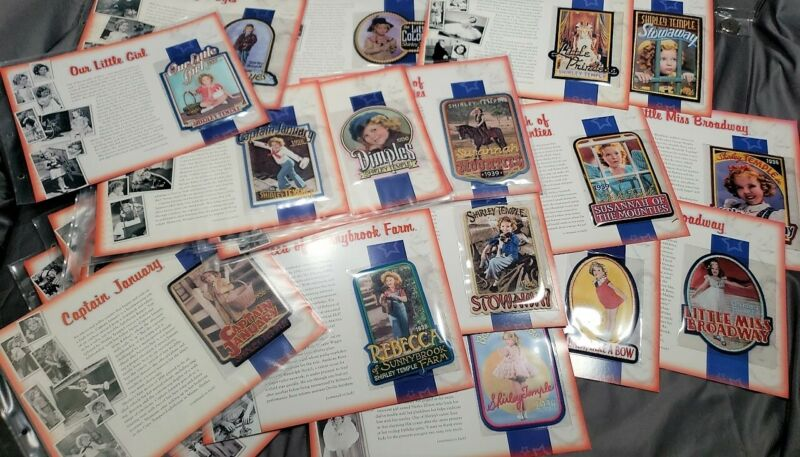 LOT OF 33 SHIRLEY TEMPLE WILLABEE & WARD COLLECTIBLE PATCHES ** FREE SHIPPING **