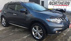 2012 Nissan Murano LE, LEATHER PACKAGE, HEATED SEATS, ONE OWNER.