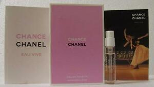 CHANEL PERFUME SAMPLE NEW RELEASE CHANEL CHANCE EAU VIVE EDT 2ML FREE POST
