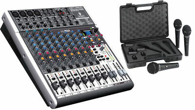 Behringer XENYX X1622USB 16-Ch Mixer Board w/ FX & XM-1800S 3-Microphones BUNDLE. Buy it now for 289.98