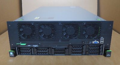 Fujitsu Primergy RX4770 M3 4x 16-Core E7-4850v4 1024GB RAM 4x 600GB Rack Server