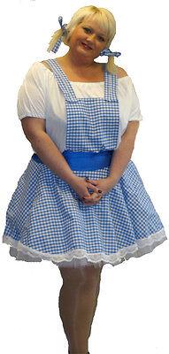 A Real Übergröße 18-40 Süß und Sexy Dorothy Zauberer von oz (Übergröße Dorothy Kostüm)