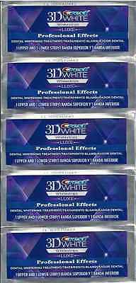 CREST 3D White Professional Effects Whitestrips Teeth Whitening Strips NEW 3