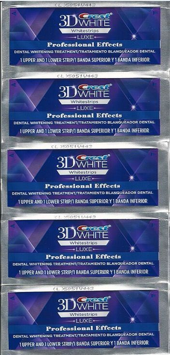 CREST 3D White Professional Effects Whitestrips Teeth Whiten