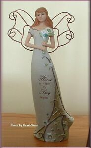 PAVILION-PERFECTLY-PAISLEY-HOME-ANGEL-12-INCH-FIGURINE-FREE-U-S-SHIPPING