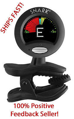 BLACK SNARK SN-5X CHROMATIC HEADSTOCK TUNER FOR GUITAR, BASS, UKE, BANJO & MORE!
