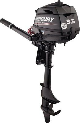 NEW MARINER MERCURY 3.5hp 4 Stroke Outboard Engine Motor 18 Kg Petrol F3.5 hp