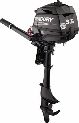MARINER MERCURY 3.5 hp 4 Stroke Outboard Engine F 3.5hp Motor Boat Short Shaft