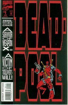 Deadpool: The Circle Chase # 1 (of 4) (Joe Madureira) (USA, 1993)