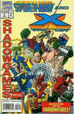 Spiderman and X-Factor: Shadowgames # 2 (of 3) (USA, 1994)