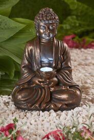 SOLAR GARDEN BUDDHA