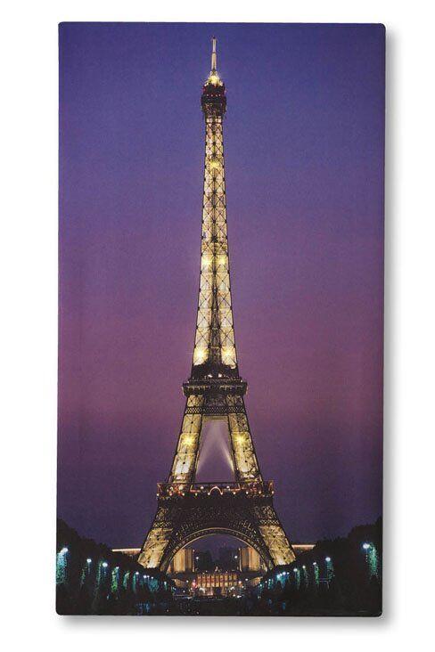 LED Eiffel Tower Canvas (New)
