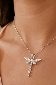 Sparkle Dragonfly Necklace