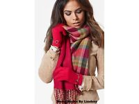 Reversible Scarf and Gloves Set