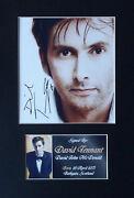David Tennant Signed