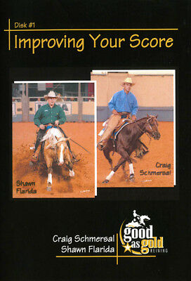 Used, IMPROVING YOUR SCORE Round Penning Horse Reining training DVD for sale  USA