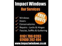 Double glazing UPVC windows and doors