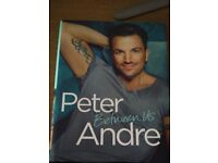 Peter Andre - Between Us Autobiography **SIGNED**
