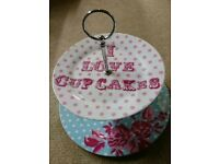 Cupcake cake stand and cup from Next