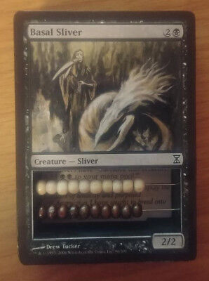 *BASAL SLIVER* Magic the Gathering MTG Abacus Life Counter 2-Sided