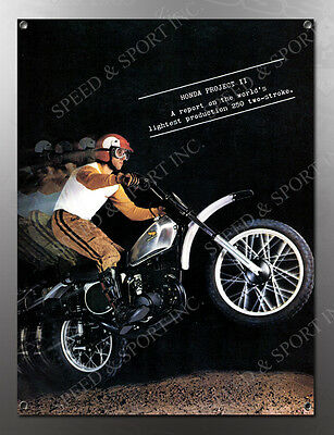 VINTAGE HONDA PROJECT II IMAGE BANNER NOS IMAGE REPRODUCTION