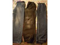 3 pairs of boys jeans (excellent condition) sizes 11 to 13