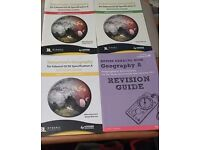 Geography GCSE revision books