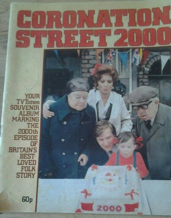 Coronation Street 2000, 96 page souvenir issue