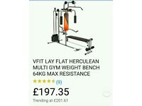 Multigym & weightlifting machine