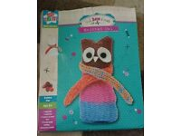 Stick Sew & Create knitted owl