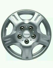 Michelin 12352A Dia 15-inch Wheel Cover - Car Wheel Trims (Set of 4)