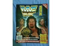 WWF/WWE Live Action Look Magazine + Poster (VERY RARE)