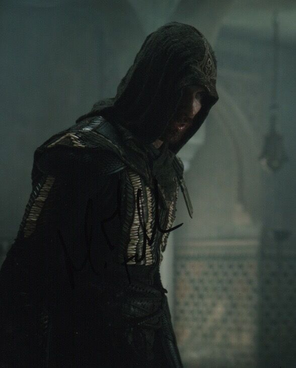Michael Fassbender Assassin's Creed Autographed Signed 8x10 Photo COA #15