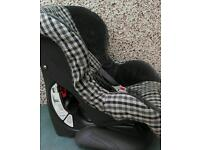 Britax eclipse car seat forward facing from 9-18 kilos solid secure clean seat