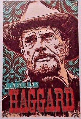"Merle Haggard Sticker Decal Country Legend New  2.75"" 3.75"" Sticker"