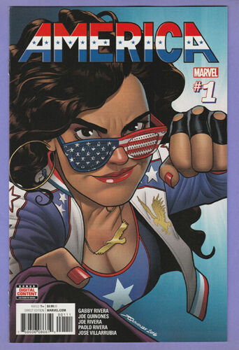 America 1 1st Miss America Chavez series Young Avengers Doctor Strange MCU 1st