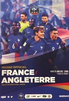 * 2017 - FRANCE v ENGLAND - INTERNATIONAL FRIENDLY (13th June 2017) *