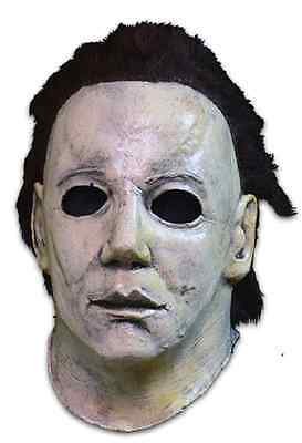 Trick or Treat The Curse Of Michael Myers Halloween 6 Adult Costume Mask - Halloween Curse Of Michael Myers Mask