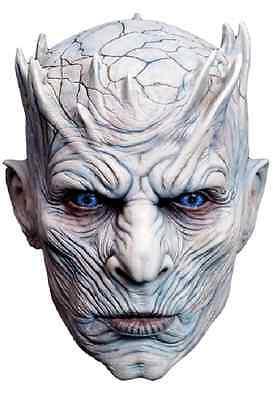 Trick Or Treat Game of Thrones Night King Halloween Adult Costume Mask RLHBO100](Game Of Halloween)