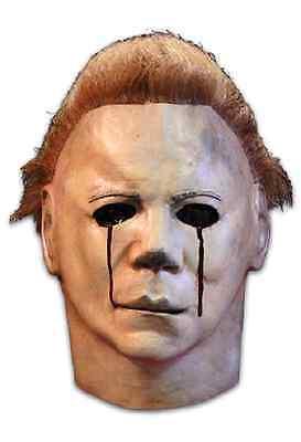 Trick or Treat Michael Myers Blood Tears Halloween 2 Adult Costume Mask JMUS101