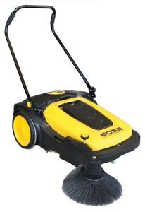 Industrial Sweeper - Indoor/Outdoor Use - Only $998