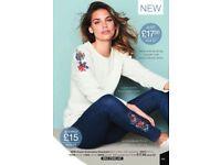 Cream Embroidery Sweatshirt