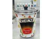 Heinz soup warmer