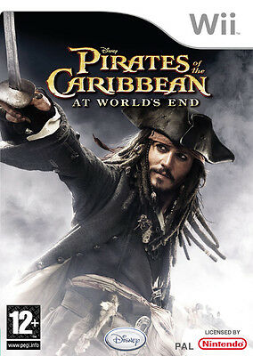 Disney Pirates of the Caribbean At World's End Wii Nintendo jeux games 1452