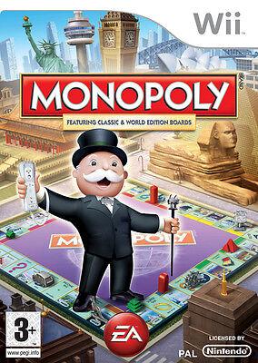 Monopoly Wii Nintendo jeux jeu game games spelletjes spellen 1578
