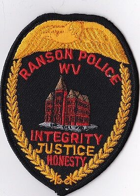 Ranson Police Patch West Virginia WV NEW !!!